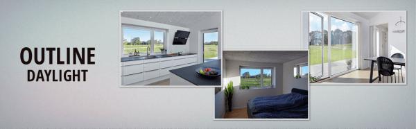 Outline daylight vinduer - Køb online på 10-4.dk