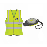 Unilite sikkerhedsvest lys gul