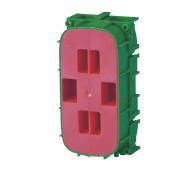 LK indmuringsdåse grøn/rød