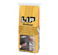 Lip multifuge koksgrå 25kg