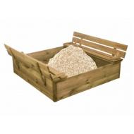 Nordic Play sandkasse træ