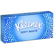 Kleenex soft white box