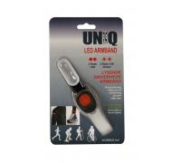 Uniq rødt led lys løbearmbånd