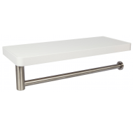 New Concept hylde hvid/stål