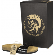 Diesel sandal shiny sort
