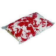 Sprehn plastkæde rød/hvid