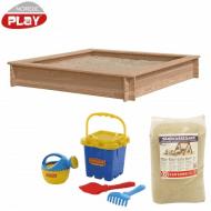 Nordic Play sandkasse lærk