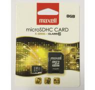 Maxell SD-kort 8 GB         *U