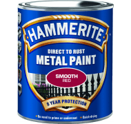 Hammerite glat rød 250 ml