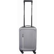 Leonardo Luxe kuffert sølv