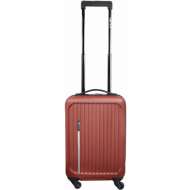 Leonardo Luxe kuffert brun