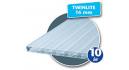 Plastmo Twinlite opal 16x980mm