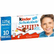 Kinder chokolade 10stk
