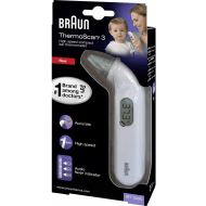 Braun øretermometer