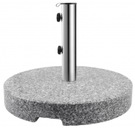 HP parasolfod lys grå