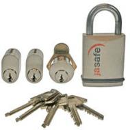 Jasa låsesæt 2 cylindere +*U
