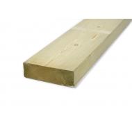 45x145mm høvlet spærtræ tryk.