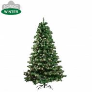 NSH kunstigt juletræ med lys