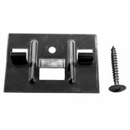 Cedral clips inkl. skrue