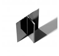 Ivarplank aluprofil hvid C01