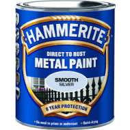Hammerite glat sølv 750 ml