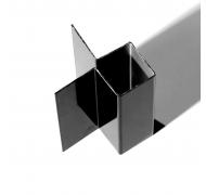 Ivarplank aluprofil granit C15