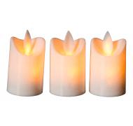 Dacore fyrfadslys LED 3stk