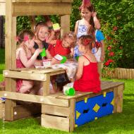 Jungle Gym bord og bænk modul