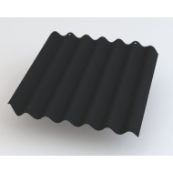 Cembrit bølgepl sortblå B9smax