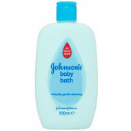 Johnsons baby bath