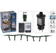 Haahr&Co LED lyskæde varm hvid