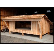 Shelter model Norge (lærk)