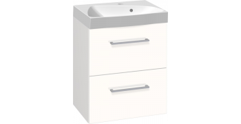 Møbelpakke med ludo marmorvask og skuffer