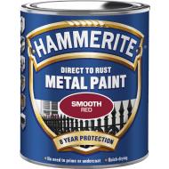 Hammerite glat rød 750ml