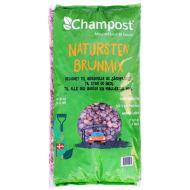 Champost natursten brunmix