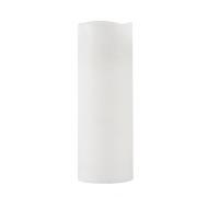 LED bloklys m/timer hvid