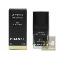 Chanel Le Vernis 219 Black Sat
