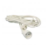 Jo-el forlængerledning 3m hvid