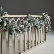 NSH guirlande med lys og sne
