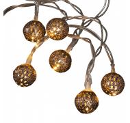 YC dekorations lyskæde kobber