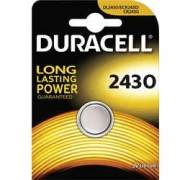 Duracell batteri CR2430     NT