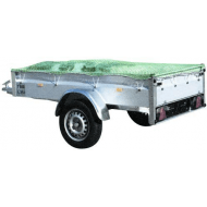 Ryom trailernet grøn PE     *U