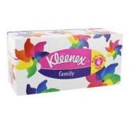 Kleenex box papirlommetørklæde