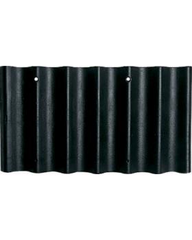 Fuldkantet Cembrit B7 sortblå bølgeplade billigt på 10-4.dk