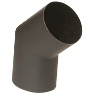 Morsø bøjning 45gr Ø120mm sort