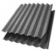 Cembrit bølgepl mørkegrå B6s