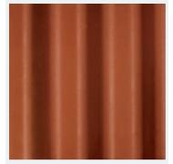 Cembrit bølgepl teglrød B7