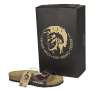 Diesel sandal mat brun