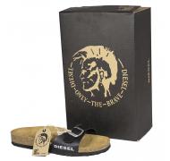 Diesel sandal mat sort