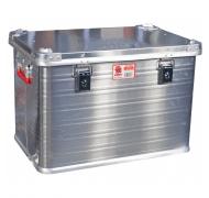 Jumbo værktøjskasse aluminium